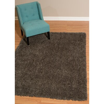 Mullenix Gray Area Rug Rug Size: Rectangle 53 x 72