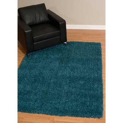 Mullenix Teal Area Rug Rug Size: Rectangle 27 x 311