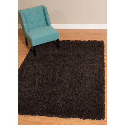 Mullenix Dark Chocolate Area Rug Rug Size: Rectangle 710 x 106