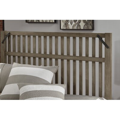 Ramage Slat Headboard Size: King, Color: Earl Gray