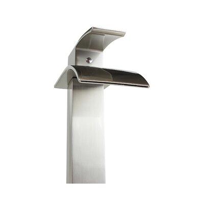 Raina Single Handle Bathroom Faucet Finish: Brushed Nickel