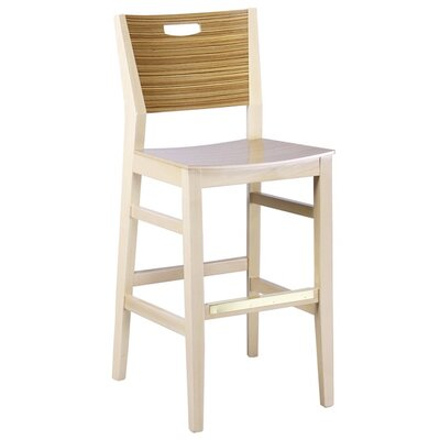 30 Bar Stool Color: English Oak