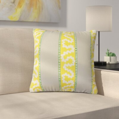 Royall Striped Cotton Throw Pillow