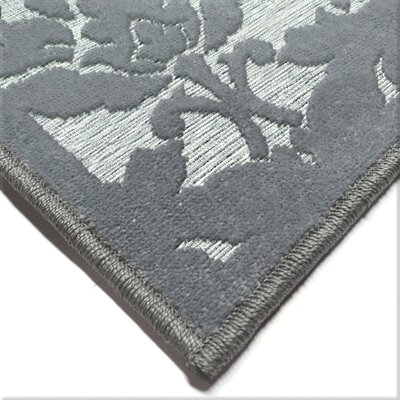 Farnum Gray Indoor/Outdoor Area Rug Rug Size: Rectangle 53 x 76