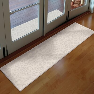 Farrand Natural Ivory Indoor/Outdoor Area Rug Rug Size: Runner 111 x 76