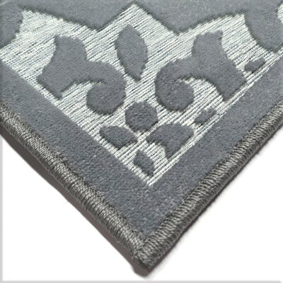 Farrel Gray Indoor/Outdoor Area Rug Rug Size: Rectangle 710 x 1010
