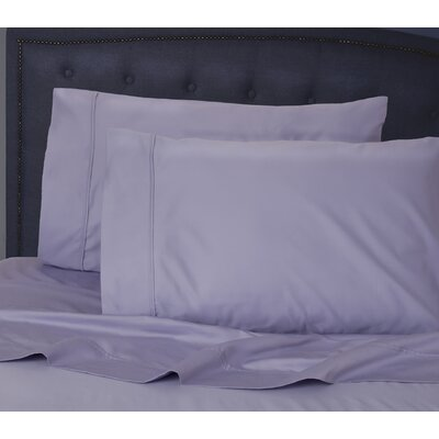 Hairston 1050 Thread Count Sheet Set Size: King, Color: Xenon Blue