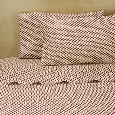 Lykins 220 Thread Count 100% Cotton Sheet Set Size: Queen