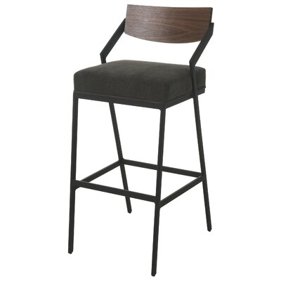 Blount Bar Stool Color: Black, Size: 26