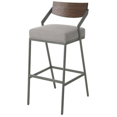 Blount Bar Stool Color: Gray, Size: 26