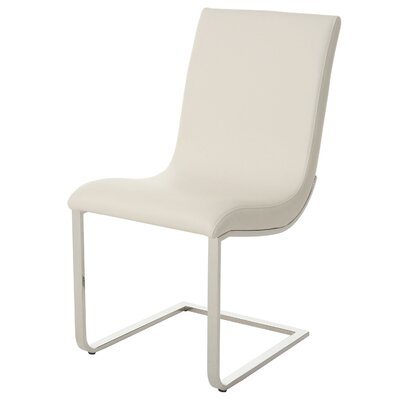 Partee Upholstered Dining Chair Upholstery Color: Off-White