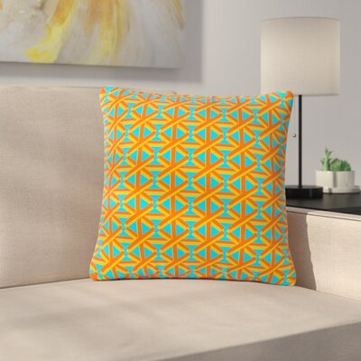 Trebam Topao Outdoor Throw Pillow Size: 18 H x 18 W x 5 D