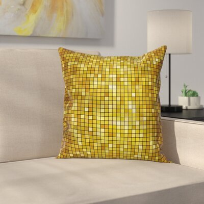 Stain Resistant Pillow Cover Size: 18 x 18