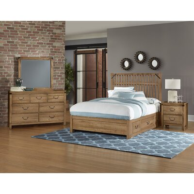 Ramage Panel Bed