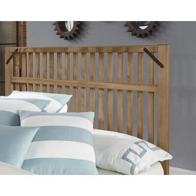 Ramage Slat Headboard Size: King, Color: Natural Maple