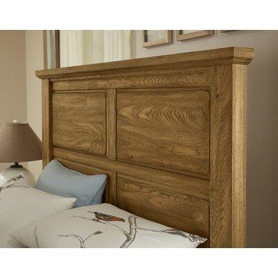 Rambert Panel Headboard Size: King, Color: Honey Oak