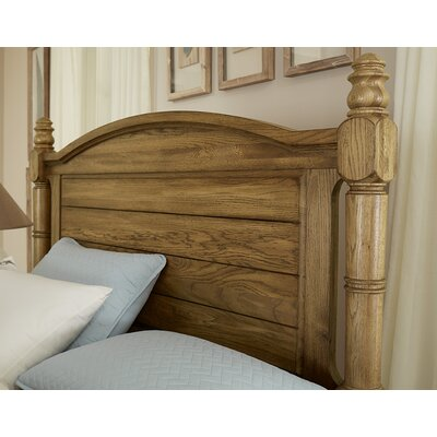 Rambert Panel Headboard Size: King, Color: Honey Oak