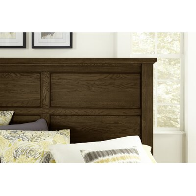 Rambert Panel Headboard Size: Queen, Color: Molasses