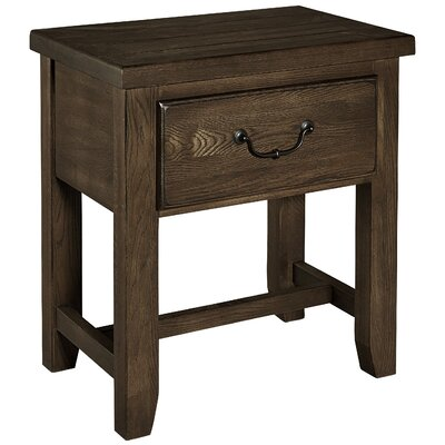 Rambert 1 Drawer Nightstand Color: Molasses