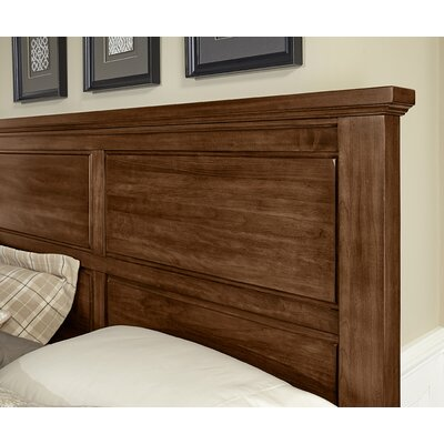Rambert Panel Headboard Size: Queen, Color: Amish Cherry
