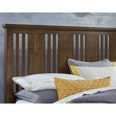Diemer Craftsman Slat Headboard Size: King, Color: Chestnut