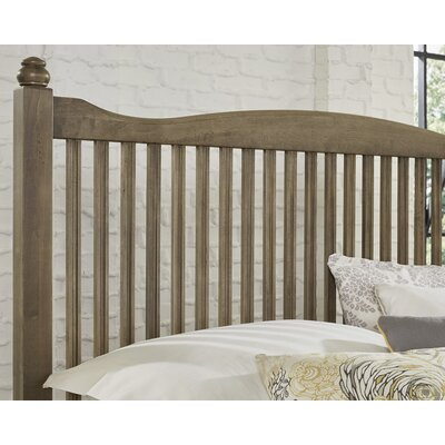 Raley Slat Headboard Size: Queen, Color: Gray