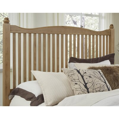 Raley Slat Headboard Size: King, Color: Natural