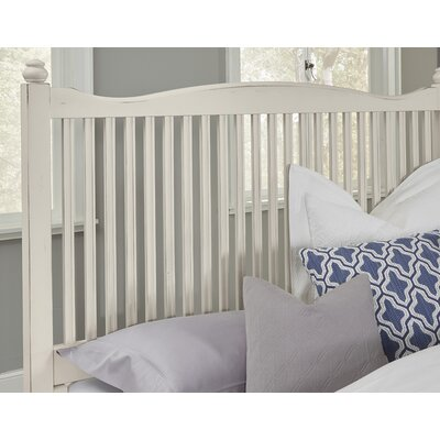 Raley Slat Headboard Size: Twin, Color: White