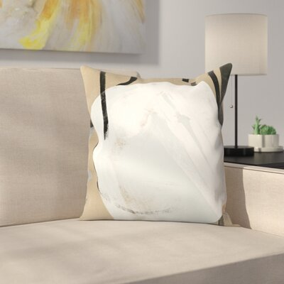 Kasi Minami Untitled 11 Throw Pillow Size: 16 x 16