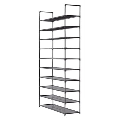 10-tier Storage 50 Pair Shoe Rack