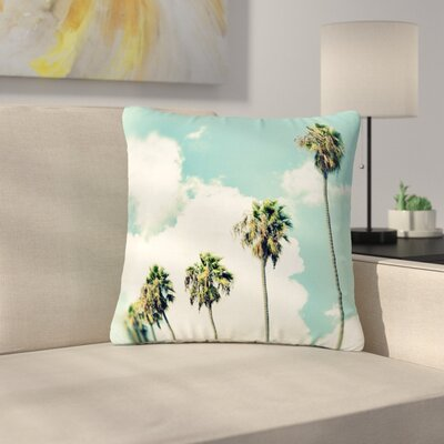 Richard Casillas Paradise and Heaven Outdoor Throw Pillow Size: 18 H x 18 W x 5 D