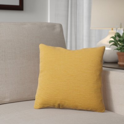 Danin Outdoor Throw Pillow Color: Sunflower, Size: Medium