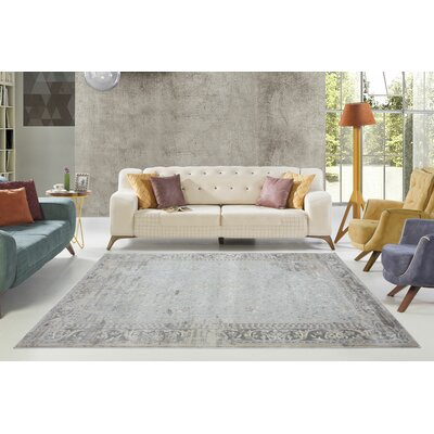 Dipasquale Champagne/Cream Area Rug Rug Size: Rectangle 6'6