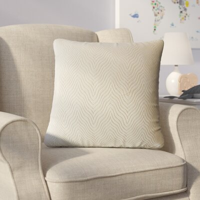 Bartle Solid Throw Pillow Color: Oatmeal