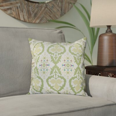 Bridgehampton Geometric Print Throw Pillow Size: 18 H x 18 W, Color: Green