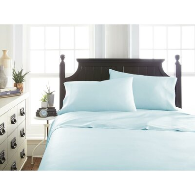 Villagomez Rayon from Bamboo Sheet Set Size: California King, Color: Aqua