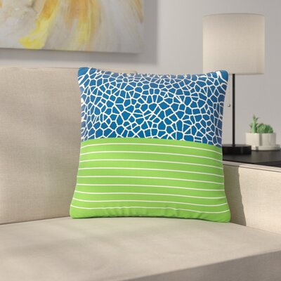 Trebam Staklo ( ) With Outdoor Throw Pillow Size: 16