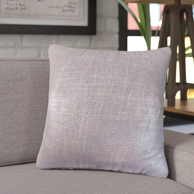 Singh Solid Linen Throw Pillow Color: Amethyst