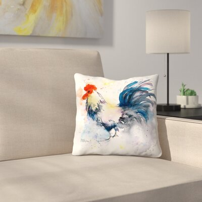 Strutting Your Stuff Throw Pillow Size: 18 x 18