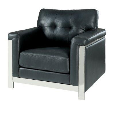 Sandford Armchair Upholstery: Gray