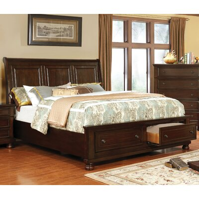 Holtzman Traditional Panel Bed
