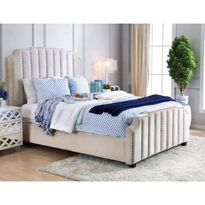 Hornbuckle Upholstered Panel Bed