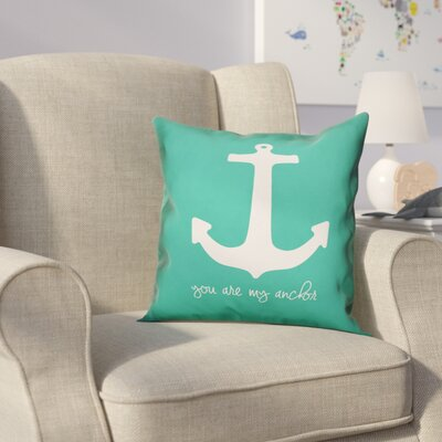 Kacie Anchor Throw Pillow