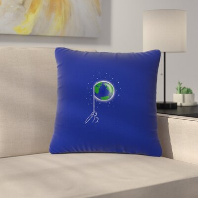 BarmalisiRTB Bubble Outdoor Throw Pillow Size: 18 H x 18 W x 5 D
