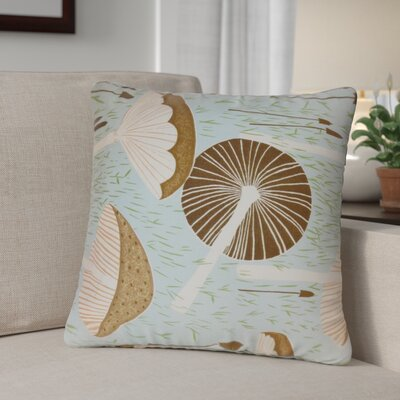 Pemberville Throw Pillow Cover Size: 20 x 20, Color: Aqua Cocoa