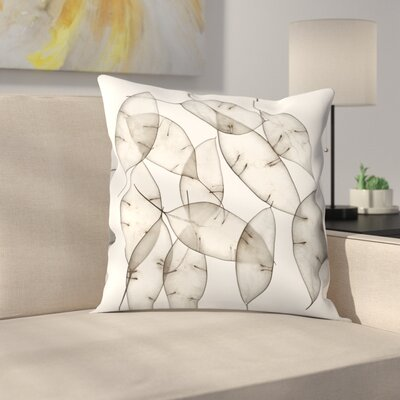 Maja Hrnjak Leaves7 Throw Pillow Size: 16 x 16