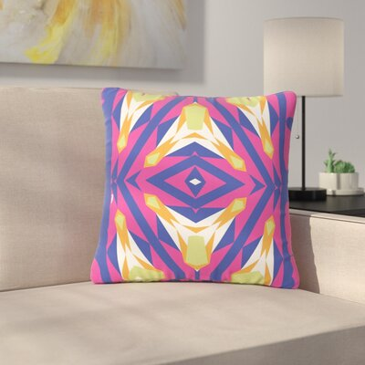 Miranda Mol Tulip Tribal Outdoor Throw Pillow Size: 16 H x 16 W x 5 D