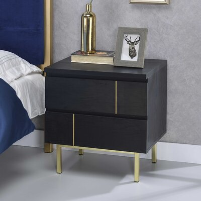 Rosalina 2 Drawer Nightstand
