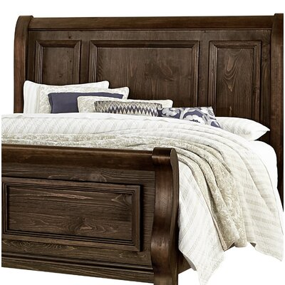 Kilpatrick Sleigh Headboard Size: Queen, Color: Coffee