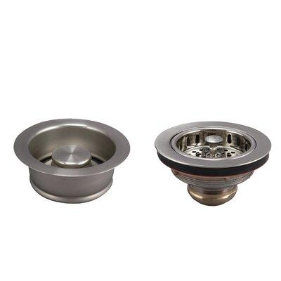 Basics Stainless Steel 4 Piece Kitchen Sink Accessary Set